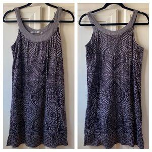 Athleta Geometric Shift Dress Size Small Grey